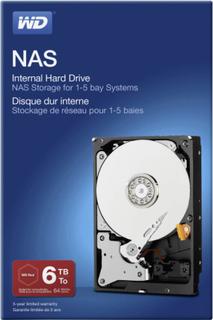 Western Digital WDBMMA0060HNC-ERSN Intern harddisk 3.5 6 TB NAS Retail SATA III