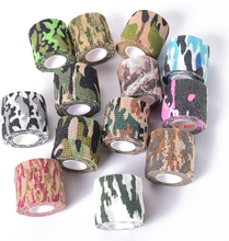 Muscle Pain Relief Elastic Bandage Camouflage Medical Glue Gym Kinesiology Tape Spandex Sport Athletic Fitness Sports Safety