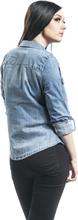 Noisy May - Dilem Slim Shirt VI027 -Olaskjorte - blå