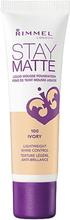 Stay Matte Liquid Mousse Foundation Foundation 100 Ivory - 30 ml