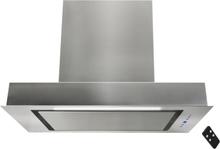 Inbyggnadsfläkt Enzo rostfritt stål 60cm/90cm