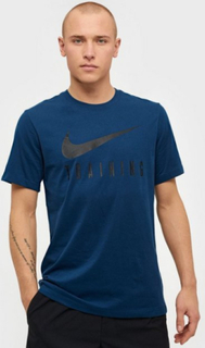 Nike M Nk Dry Tee Nike Train Trænings t-shirts Blå