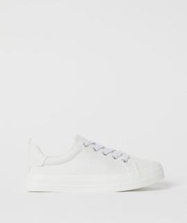H & M - Sneakers - Hvit