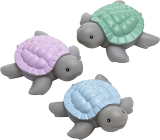 Badleksak Baby Turtlar, 3-pack, Rätt Start