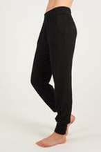 Asquith Long Harem Pants -bambuhousut (Black)
