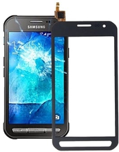 Touch + Display lasi Samsung Galaxy Xcover 3 / G388 - Musta