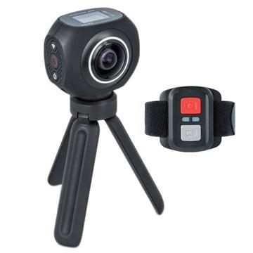 Forever SC-500 4K Sports Kamera med Tripod Stativ