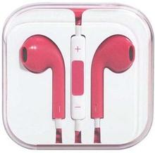 In-ear headset / høretelefoner - iPhone / iPad / iPod - Pink