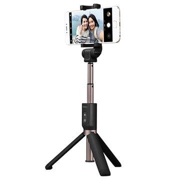 Meizu Bluetooth Selfie Stang med Tripod Stativ - Sort