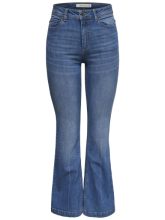 ONLY Jdy Flora High Flared Jeans Women Blue