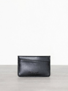 Fred Perry Tumbled Pu Card Holder Lommebøker Black