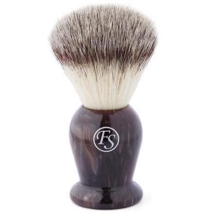 Brun Valnøtt Syntetisk Barberkost