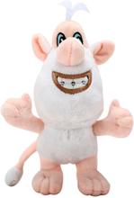 New 25CM Cartoon anime Booba-Buba plush Doll Girl Kids Toys Open And Closed Little white pig Soft Christmas Birthday Gift
