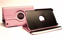 360 Fodral Samsung Galaxy Tab 3 8.0 (SM-T315) (Ljusrosa)