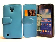 Plånboksfodral Samsung Galaxy S4 Active (i9295) (Ljusblå)