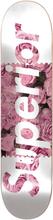 "Superior Blush 8.25"" Skateboard Deck pink Uni"
