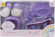 I'ts a Baby Accessories - Docktillbehör 8 Delar Lila