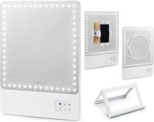 GLAMCOR RIKI Skinny - Smart Sminkspegel HD LED med selfie funktion