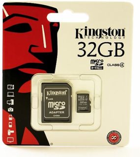 Kingston Micro SD Minneskort 32GB