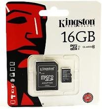Kingston Micro SD Minneskort 16 GB