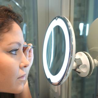 Revolt Sminkspegel LED 10x med sugproppsfäste (Variant: 2 PACK 399kr/st)