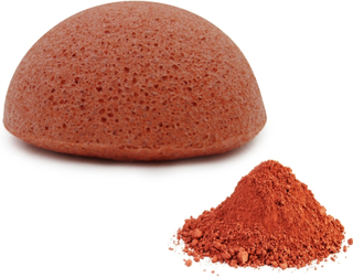 Revolt Konjac Sponge Premium French Red Clay