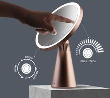 Revolt Sminkspegel Fascinate LED med bluetooth högtalare (Variant: VIT)