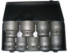 """BATO Krafthylssats 1809, 1"""" 27-50 mm, 9 delar"""