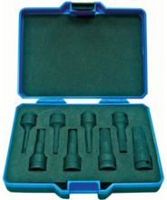 """BATO Kraftstifthylssats 1938, 1/2"""" 5-19 mm, 8 delar"""