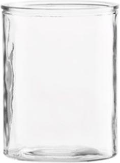 House Doctor Vase Cylinder Ø 13x15 cm - Klar House Doctor