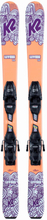 K2 Luv Bug + Fdt 4.5 Set Barn Slalomskidor Orange 100