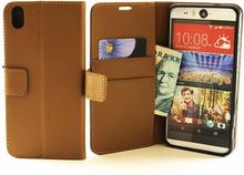 Standcase TPU wallet HTC Desire Eye (Brun)
