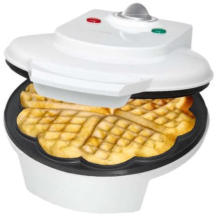 Waffle maker Clatronic WA 3491 hvid
