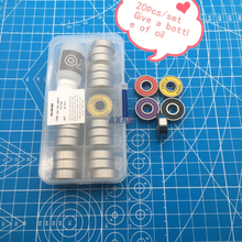 2019 Free Shipping High Quality Bearing Set 608zz Multiple Colour 608-2rs 8*22*7 Mm For Skateboard Scooter Roller Ball 608 Rs