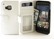 Plånboksfodral HTC One (M9) (Vit)