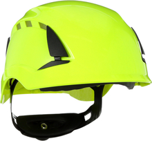 3M SecureFit X5514V Skyddshjälm ventilerad Hi-viz