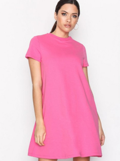 Noisy May Nmlucky S/S Abk Pocket Dress Col Loose fit dresses Lilla