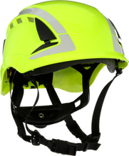 3M SecureFit X5014V Skyddshjälm dubbla godkännande, ventilerad, reflex Hi-viz