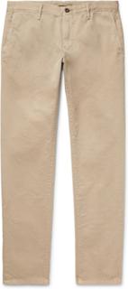 Slim-fit Cotton-twill Chinos - Beige
