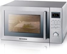 Severin 7848 Mikro 25l. grill&varmluft, rostfri,900W