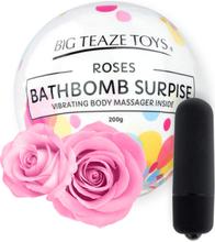 Big Teaze Toys: Bath Bomb Surprise with Vibrator, Roses
