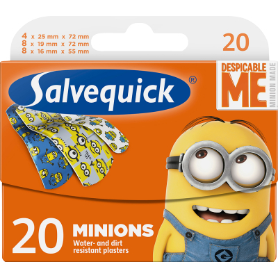 Salvequick Minions Pflaster 20 stk