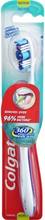 Colgate 360 Degree Tandbørste Medium 1 stk