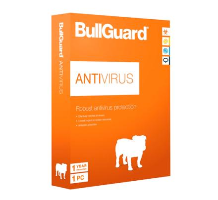 BullGuard Antivirus 2019 - 1 PC / 1 år