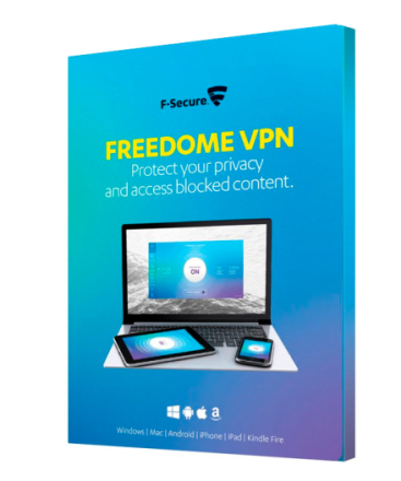 F-Secure Freedome VPN 3 enheder / 1 år (Android/iOS)