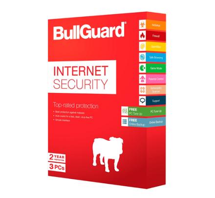 BullGuard Internet Security 2019 - 3 PC / 2 år