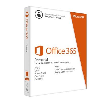 Microsoft Office 365 Personal - 5 enheter / 1 User