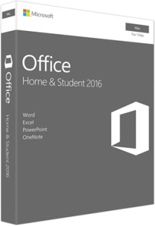 Microsoft Office Home & Student for Mac 2016 - (Mac)