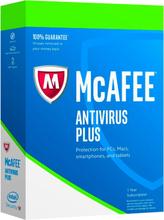 McAfee Antivirus Plus 2019 - 1 enhed / 1 år