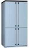 Smeg FQ960PB-Kyl/frys Med 4 Dörrar Pastellblå A+ N